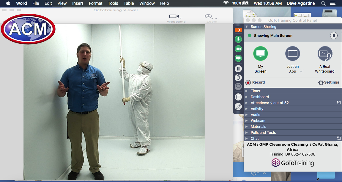 Cleanroom Consulting & Training - Advanced Cleanroom Microclean